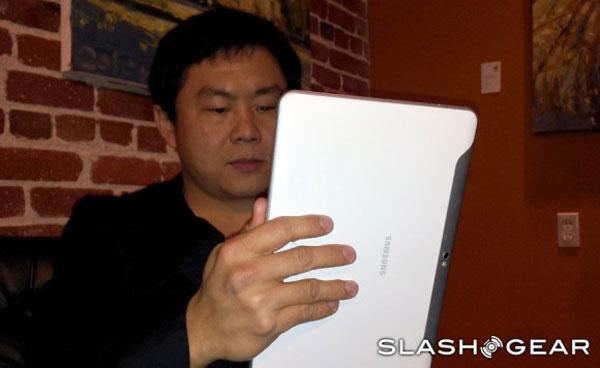 Samsung Galaxy Tab 10.1 también llegará con carcasa blanca