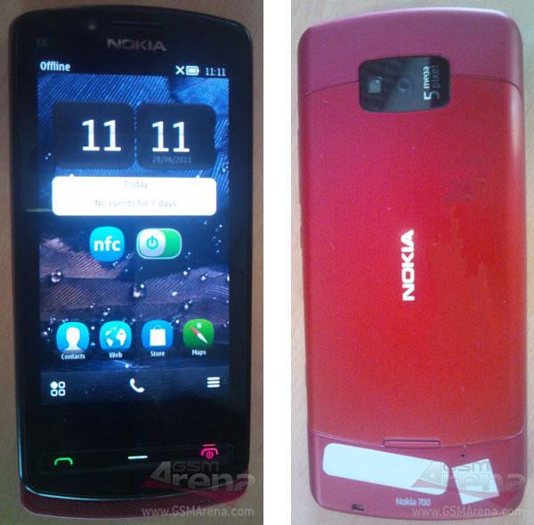 Nokia 700, imágenes del nuevo Nokia 700 con Symbian Belle y tecnología NFC