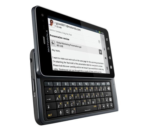 Motorola Milestone 3 o Motorola Droid 3, análisis de este móvil