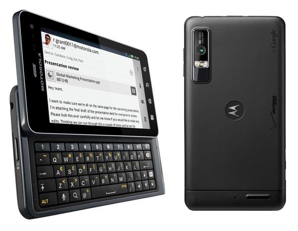 Motorola Milestone 3 o Motorola Droid 3, análisis a fondo ...