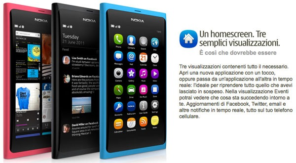 Nokia N9, nuevos datos de lanzamiento del primer móvil con MeeGo
