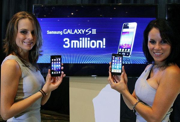 Samsung Galaxy S II rompe su propio récord de ventas