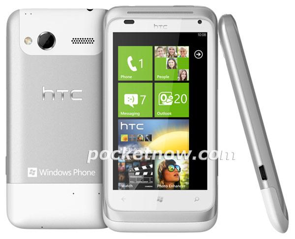 HTC Omega, primera imagen oficial del próximo Windows Phone