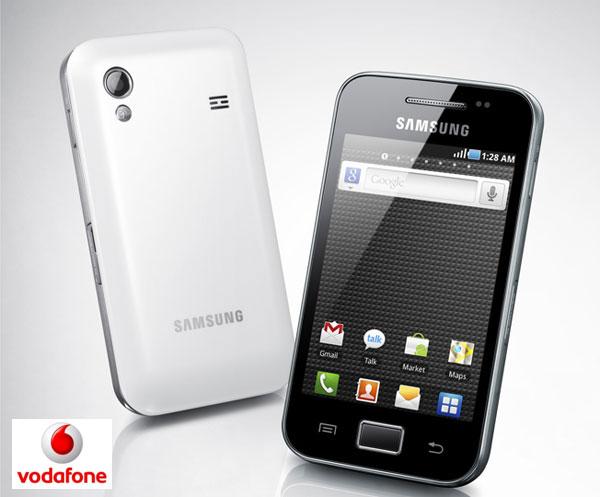 Samsung Galaxy Ace con Vodafone, precios y tarifas