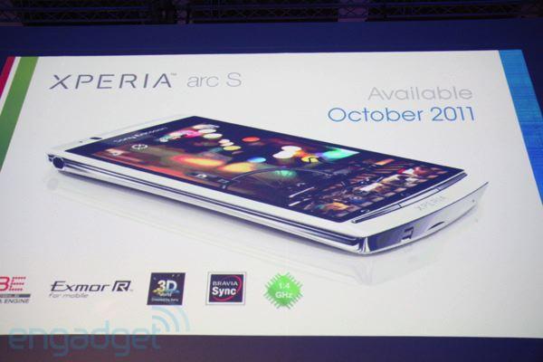 Presentado por sorpresa el Sony Ericsson Xperia Arc S