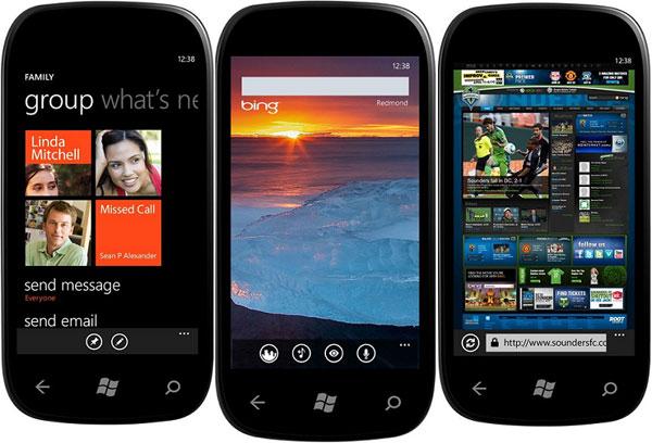 El nuevo Windows Phone 7 Mango de Samsung tendrá soporte NFC