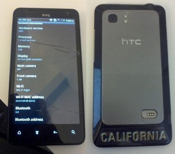HTC Holiday, móvil Android con pantalla de 4,5 pulgadas 2