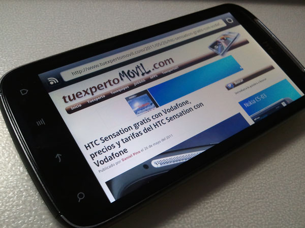 HTC Sensation, actualización a Android Gingerbread 2.3.4 2