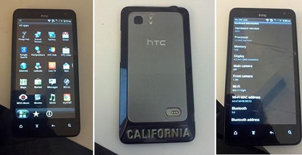 HTC Holiday, móvil Android con pantalla de 4,5 pulgadas