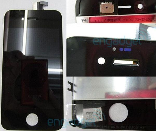 Imágenes filtradas del posible prototipo de iPhone 4S
