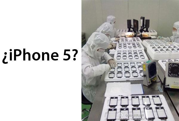 Filtradas imágenes de la cadena de producción del iPhone 5