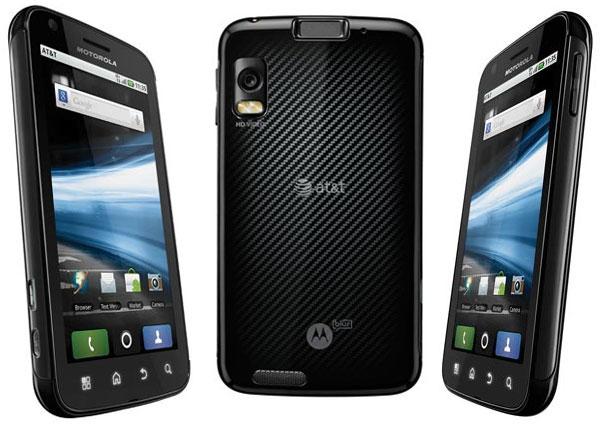 Motorola Atrix recibirá Gingerbread a finales de año