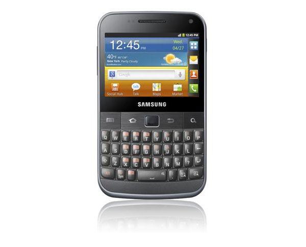 Samsung Galaxy M Pro, análisis y opiniones
