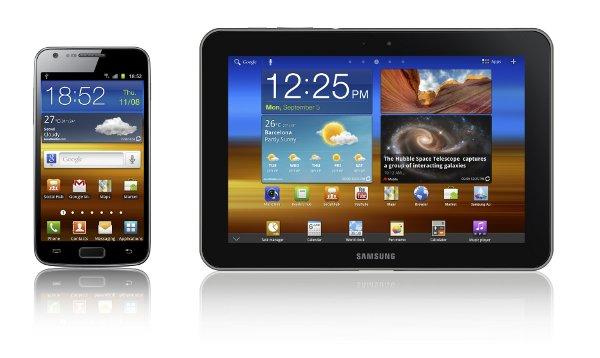 Samsung Galaxy S II y Galaxy Tab 8.9, también con LTE