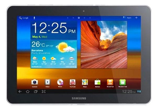 El tablet de Samsung también burlaría a Apple en Australia