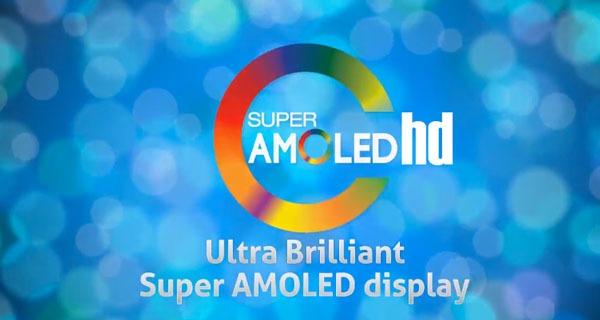 Samsung lanzará pronto terminales con panel Super AMOLED HD