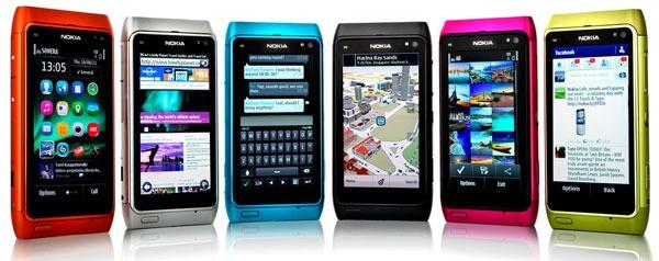 Nokia N8, E7, C6 y C7 empiezan a actualizarse a Symbian Anna