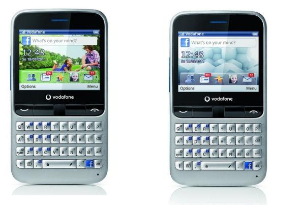 El Vodafone 555 con Facebook integrado ya está a la venta