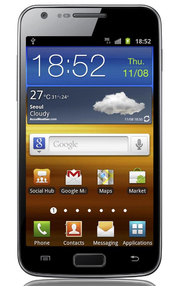 El Samsung Galaxy S II LTE llegará a Europa en 2012 2