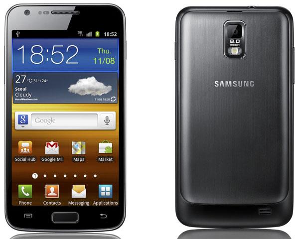 El Samsung Galaxy S II LTE llegará a Europa en 2012