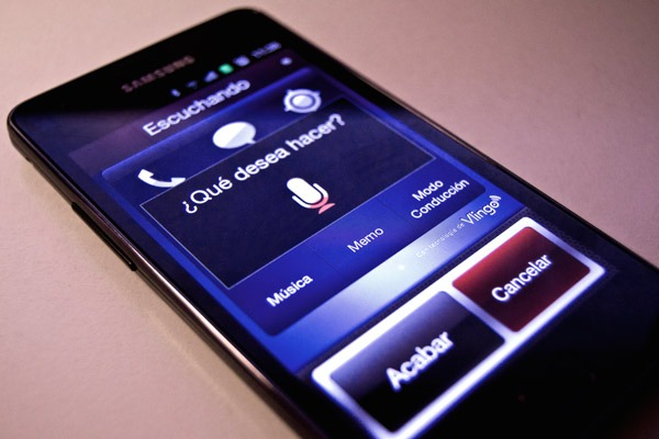 Samsung Galaxy S II y su novedosa función manos libres