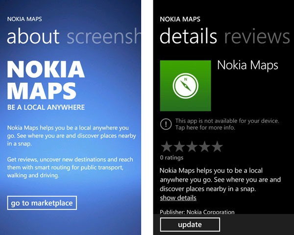 Desvelada la aplicación Nokia Maps para Windows Phone 7