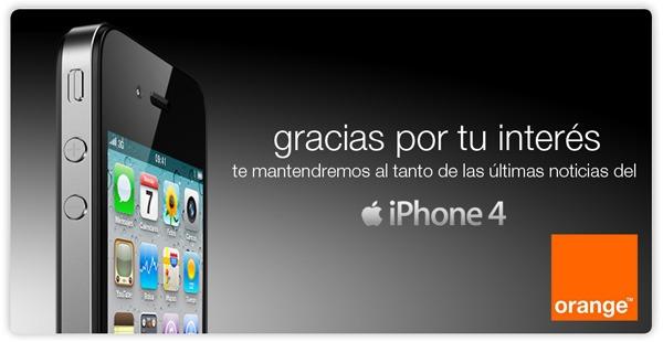 iPhone 4 8 GB Orange, precios y tarifas