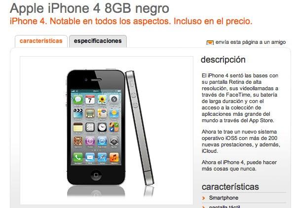 Iphone  Orange Portabilidad
