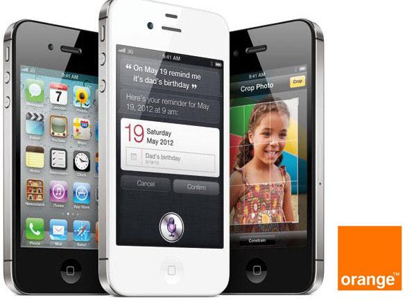 iPhone 4S con Orange, precios y tarifas