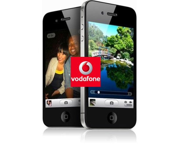 iPhone 4S con Vodafone, precios y tarifas