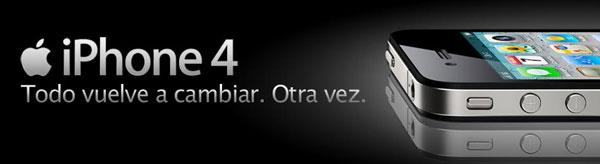 iPhone 4 8 GB con Movistar, precios y tarifas