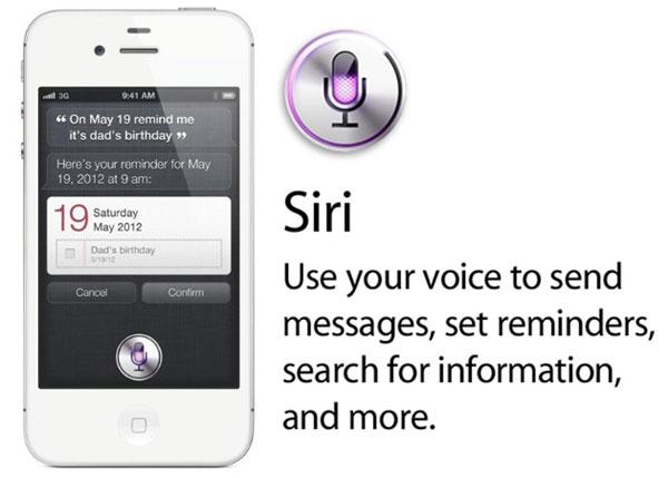 El asistente del iPhone 4S funciona con el móvil bloqueado