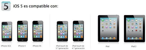 La actualización de sistema del iPhone 4S amenaza con retrasarse