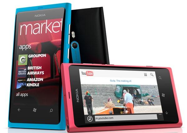 El Nokia Lumia 800 se estrenará el 16 de noviembre