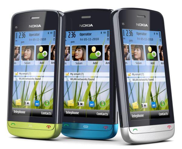 Cómo conseguir gratis el Nokia C5-03 con Vodafone