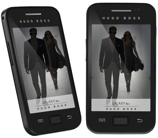 Hugo Boss viste la edición especial del Samsung Galaxy Ace