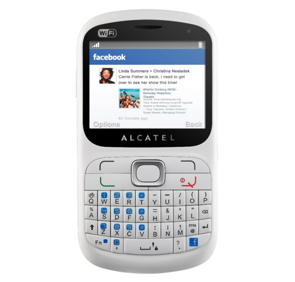 Orange ofrece el Alcatel One Touch 813F con acceso a Facebook