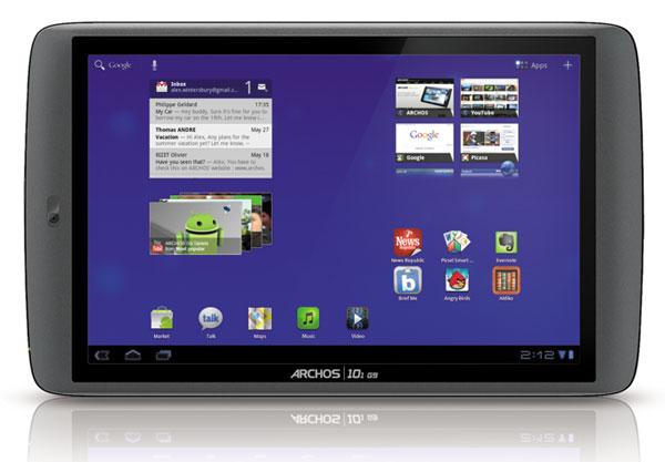Las nuevas tabletas Archos G9 a la venta en Navidad