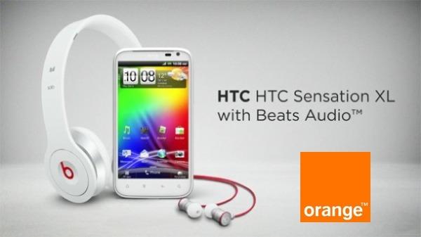 HTC Sensation XL con Orange, precios y tarifas