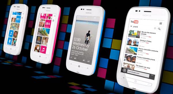 Nokia muestra los spots publicitarios del Nokia Lumia 710