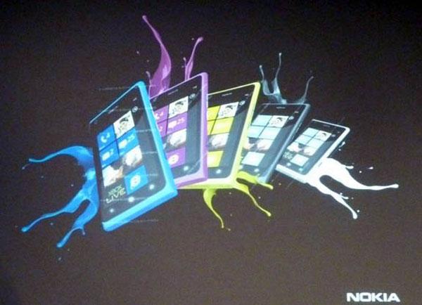 El Nokia Lumia 800 podría llegar en nuevos colores