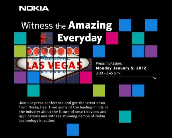 El Nokia Lumia 900 podría presentarse el 9 de enero