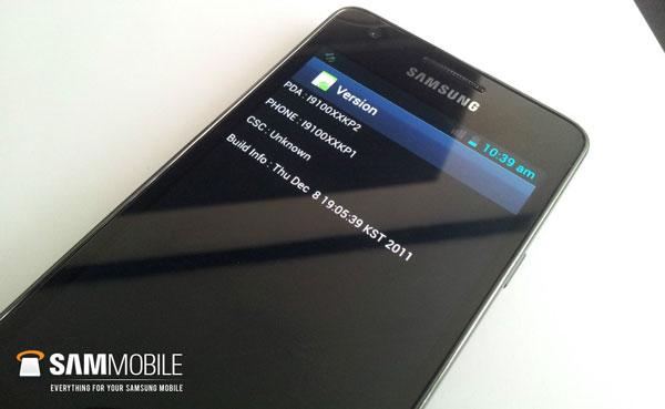 Filtrada la ROM de Android 4.0.1 para el Samsung Galaxy S2