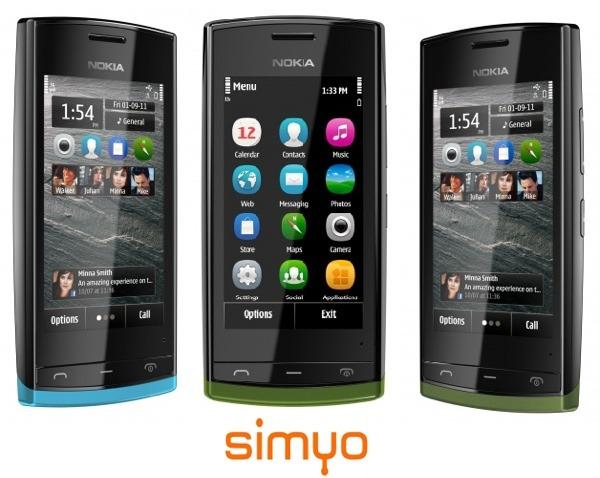 Nokia 500 con Simyo, precios y tarifas