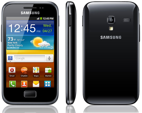 Comparativa: Samsung Galaxy Ace Plus VS Samsung Galaxy Ace