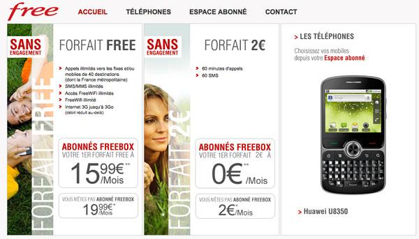 Las tarifas de la francesa Free revolucionan a las operadoras
