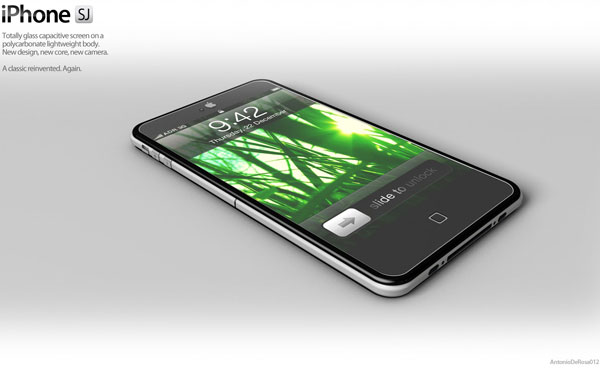 Nuevo concepto de iPhone 5 con diseño ultradelgado