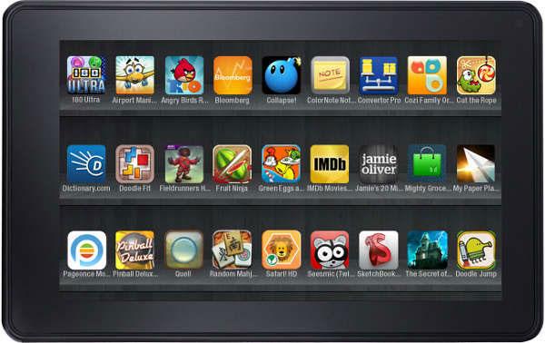 El Kindle Fire de Amazon sigue plantándole cara al iPad de Apple