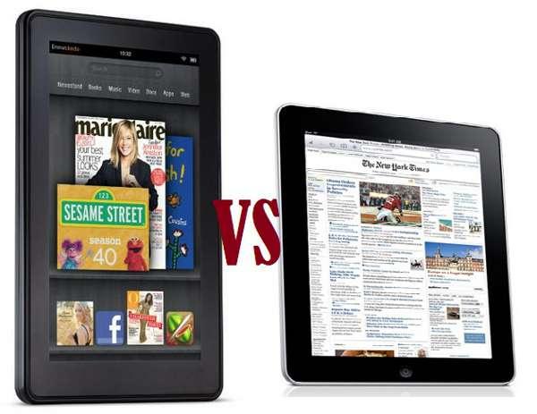 El Kindle Fire podría haber robado ventas al iPad 2