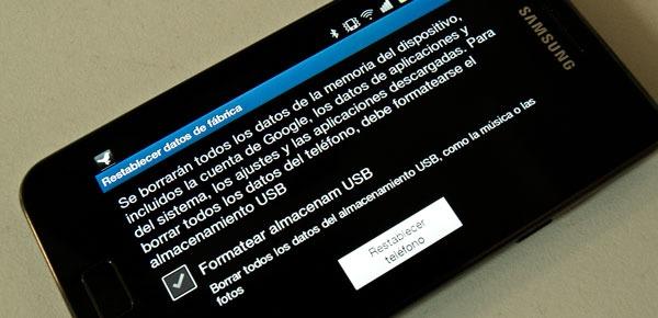 Cómo restaurar el sistema en Android